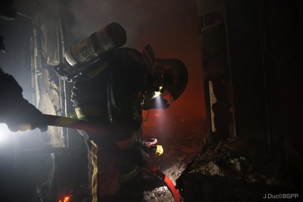 BSPP - Incendie Ritz Paris