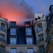 Incendie de l'Hôtel Ritz à Paris – les images en live –