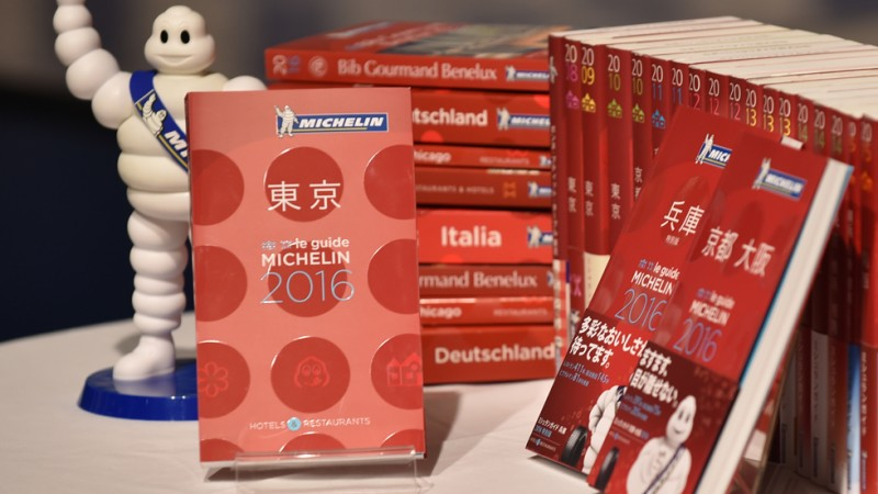 Michelin 2016 photo AFP
