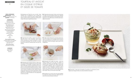 Livres de cuisine cole ferrandi institut bocuse le for Anciens livres de cuisine