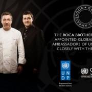 Les frères Roca premiers chefs à devenir Ambassadeurs de bonne volonté à l'ONU