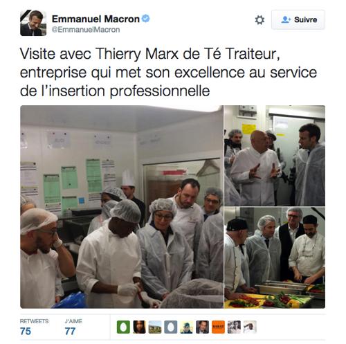 Macron Marx
