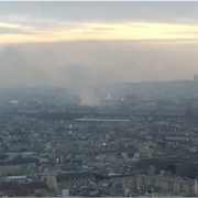Hôtel Ritz – Le Palace situé place Vendôme à Paris est en feu.