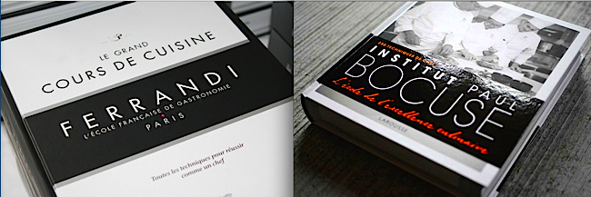 livres de cuisine cole ferrandi institut bocuse le combat des coqs food sens. Black Bedroom Furniture Sets. Home Design Ideas