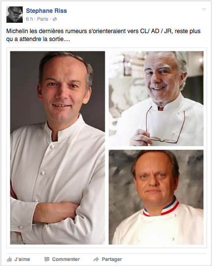 Michelin 2016 France