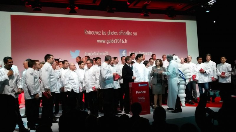 Michelin guide France 2016