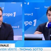 Retrouvez Mathieu Pacaud sur Europe 1- »  Nous, nos restaurants ont des noms «