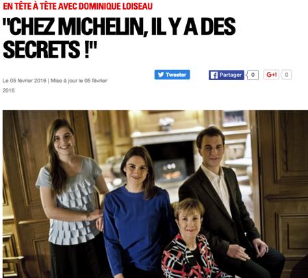 Loiseau Michelin