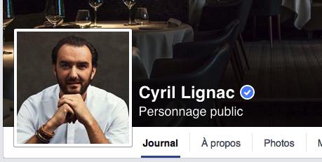Facebook Lignac