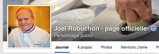 facebook robuchon