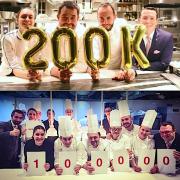 200 000 pour Jean-François Piège, 100 000 pour Anne-Sophie Pic, la course à la notoriété est lancée sur le net via facebook