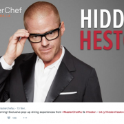 "Heston Blumenthal – Le chef innove encore dans le "" Restaurant pop Up """
