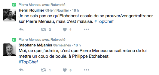 top chef Pierre meneau
