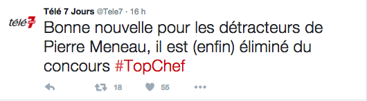 Pierre Meneau TOP CHEF 2016