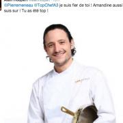 Top chef 2016 – Pierre Meneau son départ hier soir secoue les réseaux sociaux