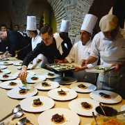 8 chefs cuisinent pour un accord mets/rhum au Guatemala … Art of Slow