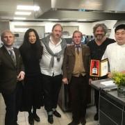 Septième Goût nous a mis d'accord avec une association atypique foie gras et saké