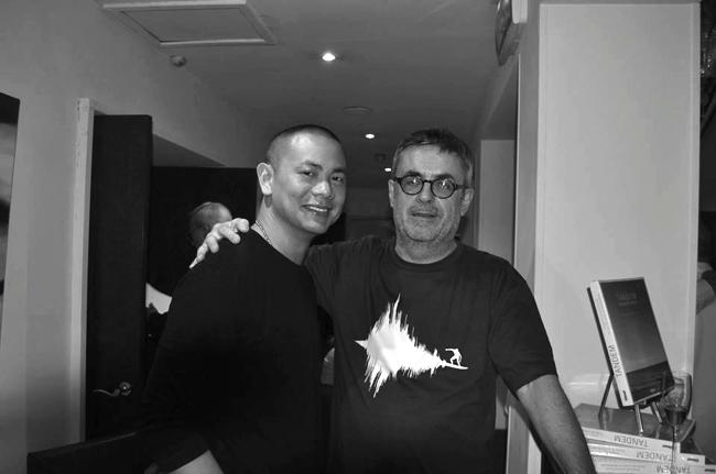 André Chiang et Henri Capela
