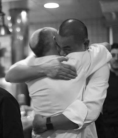 Les chef Laurent et André Chiang