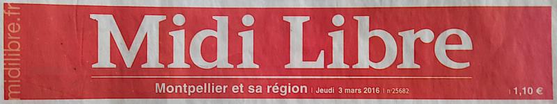 Midi libre mars 2016