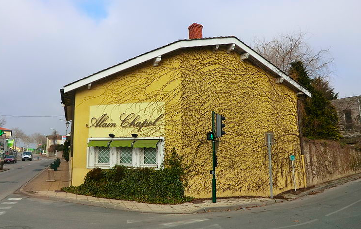 alain chapel restaurant