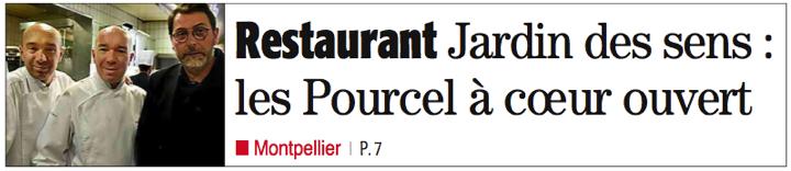 Midi Libre Pourcel