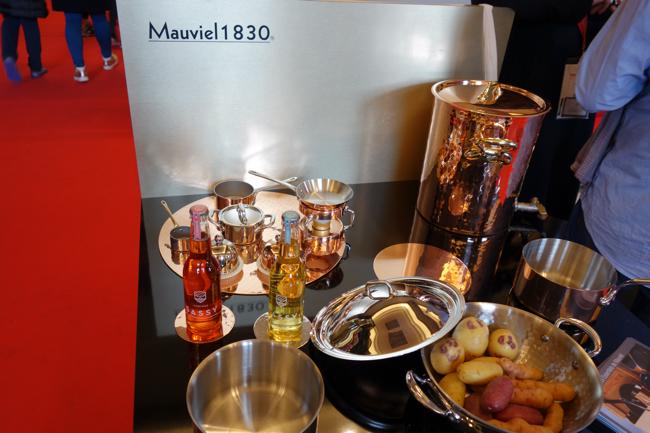 Le matériel de cuisine Mauviel