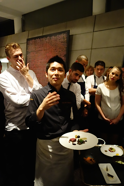 Le chef Kamoda Takeshi