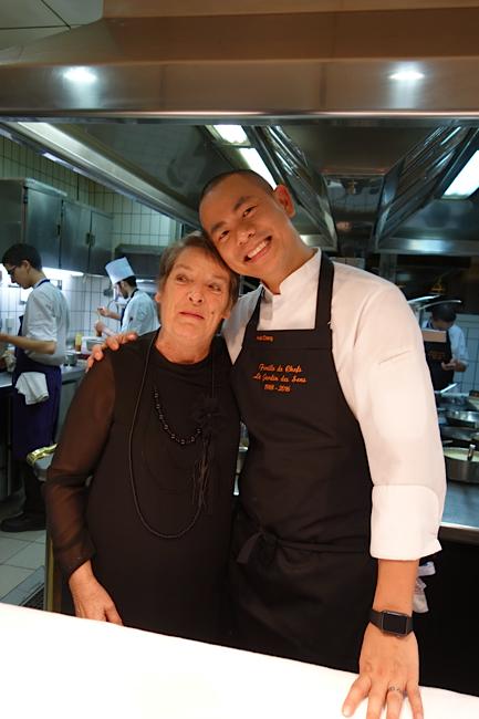 Brigitte Soustre et André Chiang