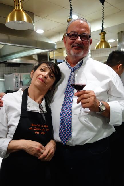 La  chef Nathalie Richin de Cui Cui et jacques Cairel