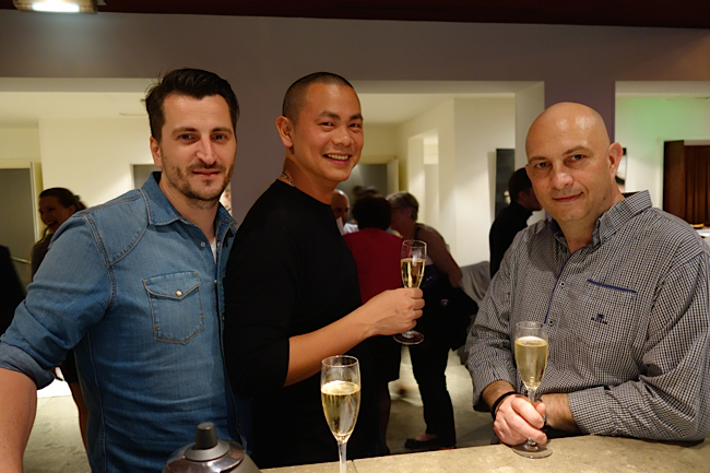 Wilfrid Hocquet, André Chiang, Thierry Rousset