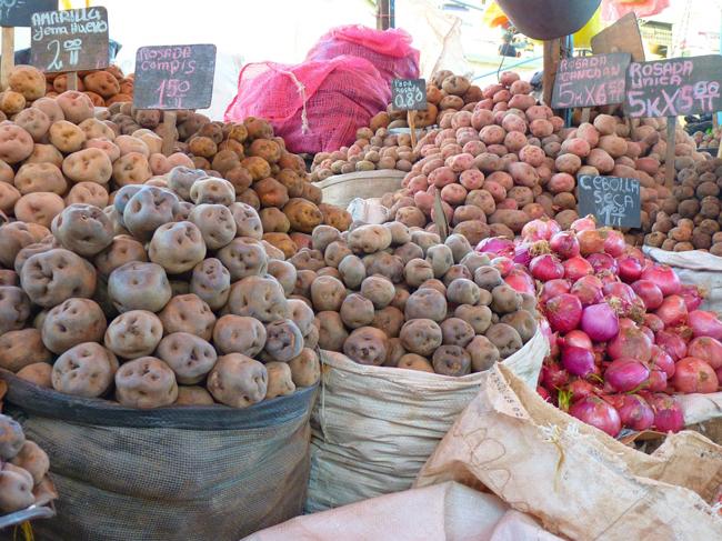 Pomme de terre Pérou
