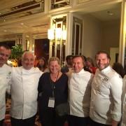 Guy Savoy ouvre aujourd'hui » Brioche by G Savoy » à Las Vegas et fête les 10 ans de son restaurant au Caesars Palace