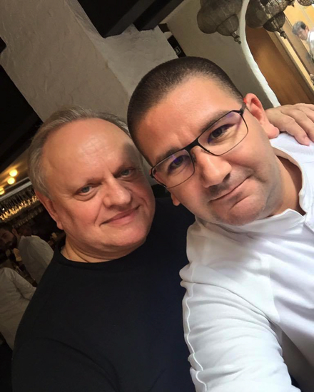 Joël Robuchon et Dani Garcia