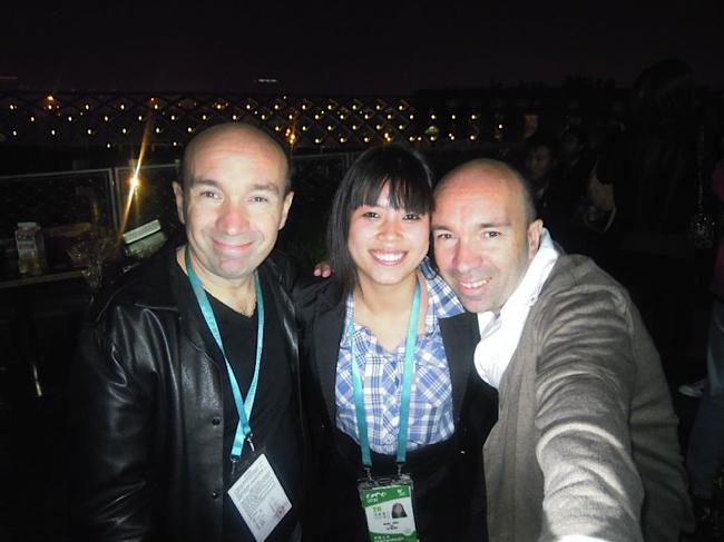 Shanghai 2010 avec les frères Pourcel