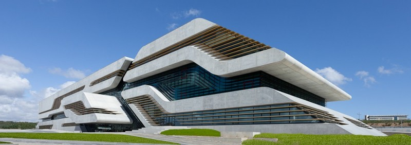 Zaha hadid diva de l 39 architecture contemporaine for Barcelone architecture contemporaine