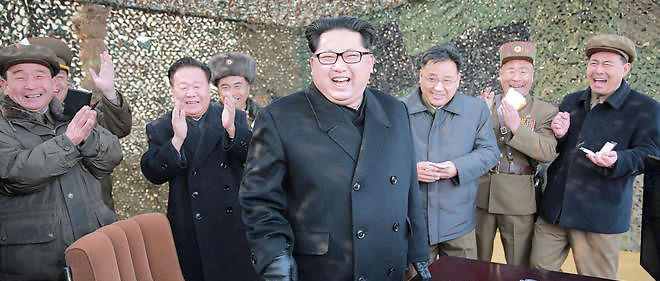 Kim Jong Un © AFP/ KCNA