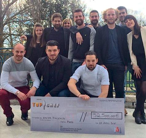 Top Chef 2016 - Le gagnant est Xavier Pincemin
