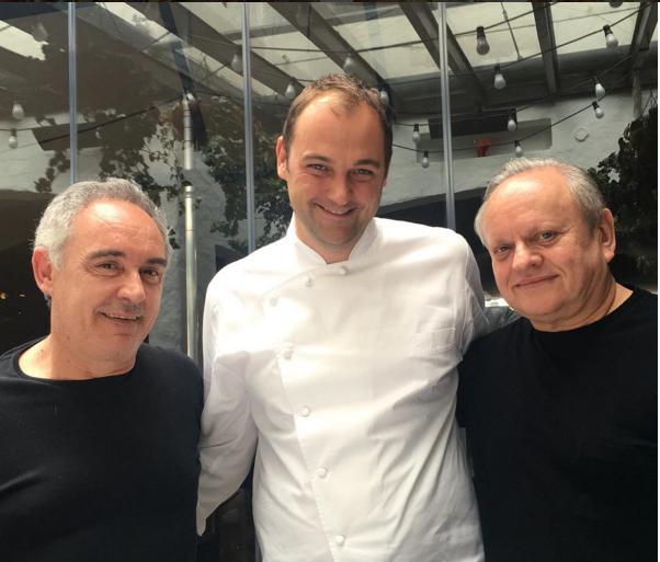 Ferran Adria Daniel Humm et Joël Robuchon
