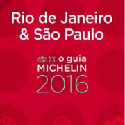 Guide Michelin Rio de Janeiro et Sao paulo 2016 présenté à 3 mois des Jeux Olympiques