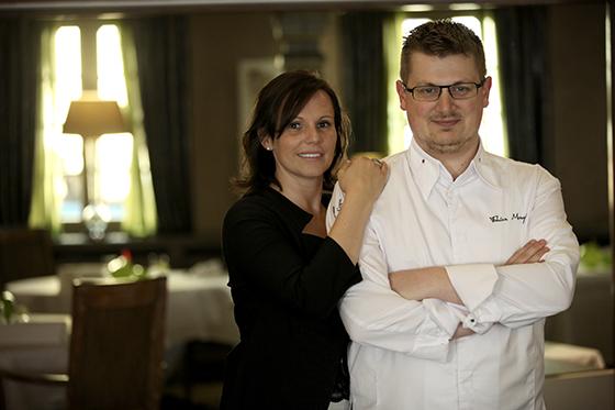 le chef Mengus et son épouse