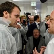 """Thierry Marx porte-parole de """" En Marche ! """" le mouvement politique crée par Emmanuel Macron ? … le chef dément …"""