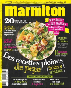 en 5 ans le magazine marmiton est devenu leader des magazines cuisine food sens. Black Bedroom Furniture Sets. Home Design Ideas