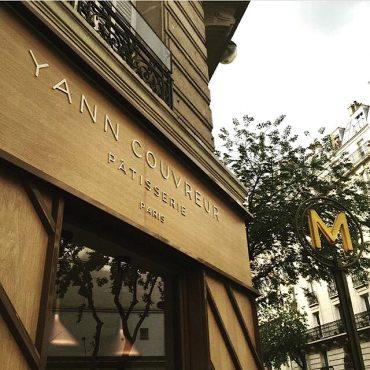 Pâtisserie Yann Couvreur Paris