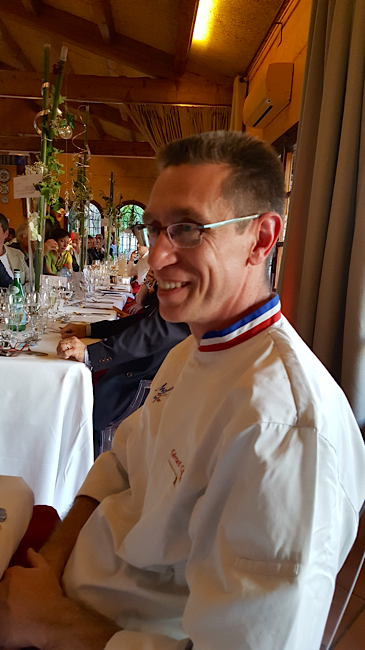 Le chef Gérard Cabiron