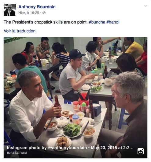 Bourdain Obama