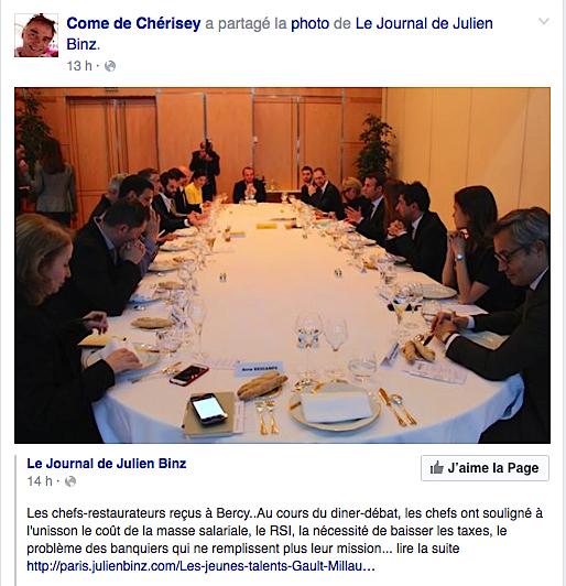 Macron gault Millau