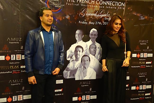 AMUZ Gilles Marx French Connection Jakarta 2016