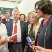 «Cuisine Mode d'Emploi(s)» inaugurée aujourd'hui à Besançon en présence de la Ministre du travail Myriam El Khomri et Thierry Marx