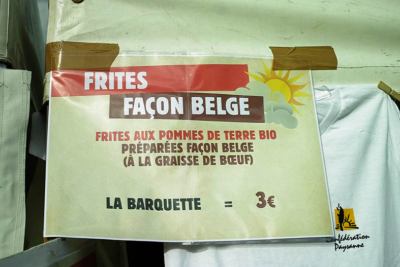 frites affiche